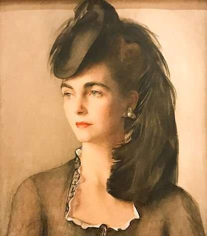picture portrait of Barbara Hutton